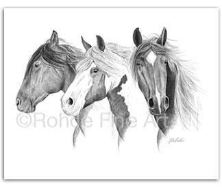 Vigilantes (Wild Horses) : Buy Wild Horse Art & Paintings ...