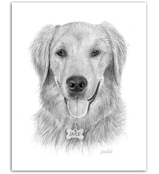 Golden Retriever dog art goldens paintings of dogs