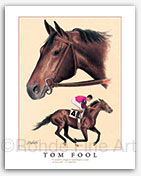 Tom Fool horse racing Thoroughbred racehorse art painting history